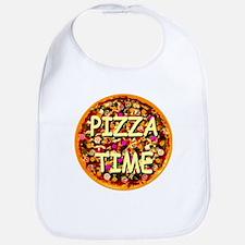 Pizza Time Bib