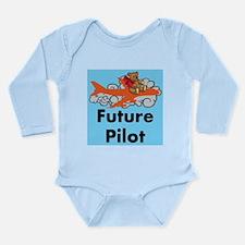 Future Pilot Long Sleeve Infant Body Suit