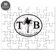 Tybee Island, GA Euro Sticker Puzzle