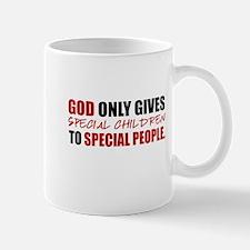 God Only Gives (Red) Mug