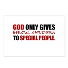 God Only Gives (Red) Postcards (Package of 8)