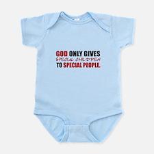 God Only Gives (Red) Infant Bodysuit