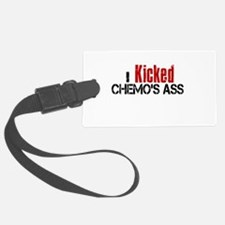 I Kicked Chemo's Ass Luggage Tag