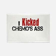 I Kicked Chemo's Ass Rectangle Magnet
