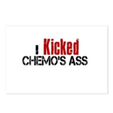 I Kicked Chemo's Ass Postcards (Package of 8)