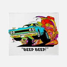 Beep Beep Throw Blanket