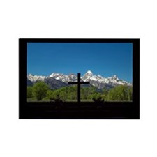 Chapel View of the Grand Tetons Magnets