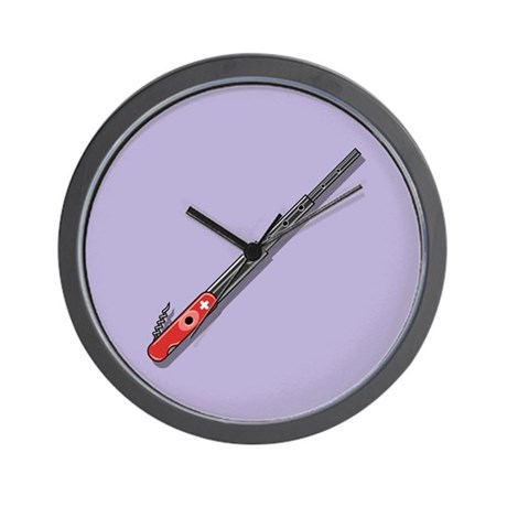 Swiss Army Fife Wall Clock By Vicevoices