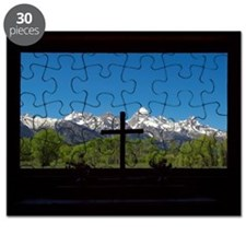 Chapel View of the Grand Tetons Puzzle