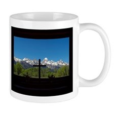 Chapel View of the Grand Tetons Mugs