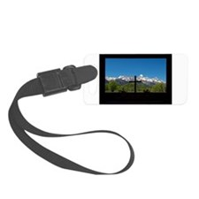 Chapel View of the Grand Tetons Luggage Tag