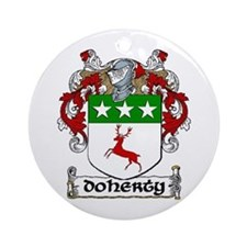 Doherty Coat of Arms Ornament (Round)
