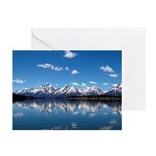 GRAND TETON - JACKSON LAKE Greeting Cards