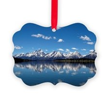 GRAND TETON - JACKSON LAKE Ornament