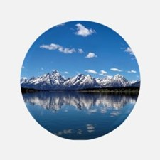 "GRAND TETON - JACKSON LAKE 3.5"" Button (100 pack)"