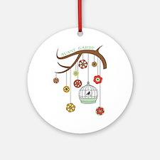 Avant Garde Ornament (Round)