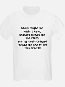 Great-Grandpa Trouble T-Shirt