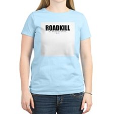 Roadkill for dinner Women's Pink T-Shirt