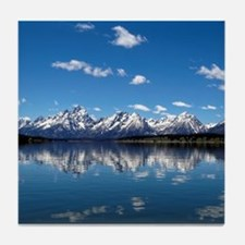 GRAND TETON - JACKSON LAKE Tile Coaster