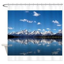 GRAND TETON - JACKSON LAKE Shower Curtain