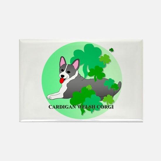 Cardigan Welsh Corgi Rectangle Magnet