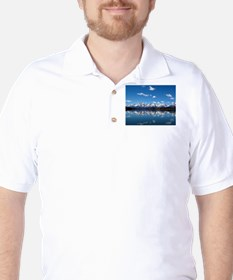 GRAND TETON - JACKSON LAKE Golf Shirt