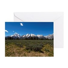 Grand Teton Scenic View Greeting Cards