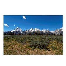 Grand Teton Scenic View Postcards (Package of 8)
