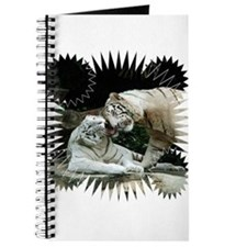 Kiss love and joy White Bengal Tigers 3 Journal