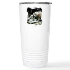 Kiss love and joy White Bengal Tigers 3 Travel Mug