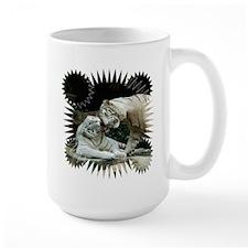 Kiss love and joy White Bengal Tigers 3 Mugs