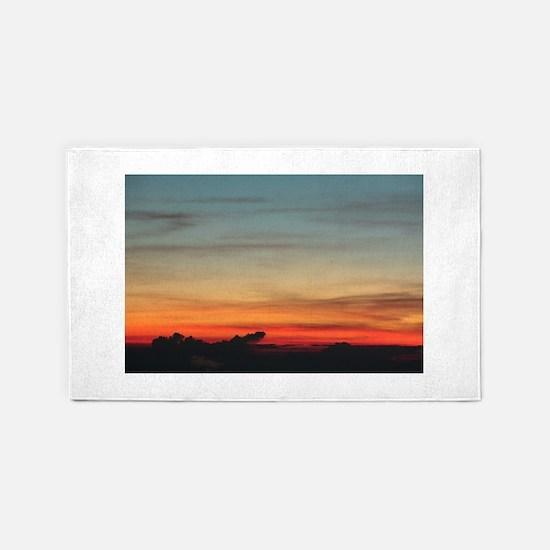 Haleakala Sunrise 3'x5' Area Rug