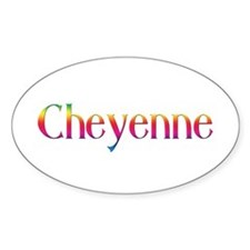 Cheyenne Oval Decal