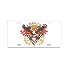 American Military Family Aluminum License Plate
