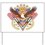 Military veteran Yard Signs