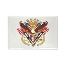 American Military Family Rectangle Magnet (10 pack