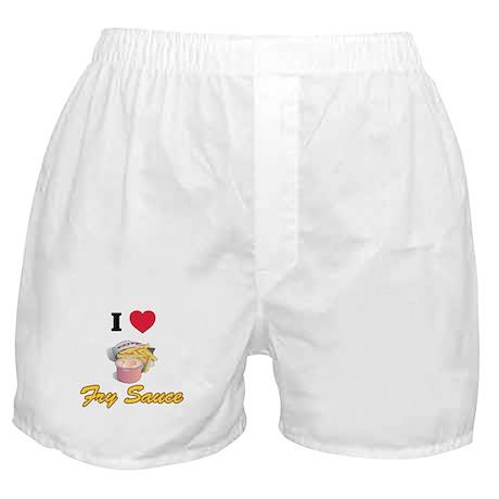 I love fry sauce Boxer Shorts