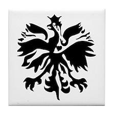 Polish Eagle Tile Coaster