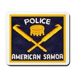 Samoa Police Mousepad