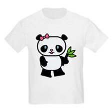 Cute Panda Kids T-Shirt
