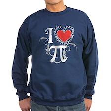 I heart Pi Sweatshirt