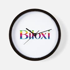 Biloxi Wall Clock