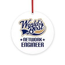 Network Engineer (Worlds Best) Ornament (Round)