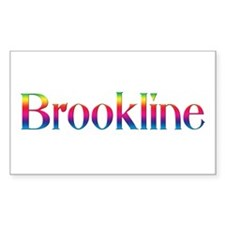Brookline Rectangle Decal
