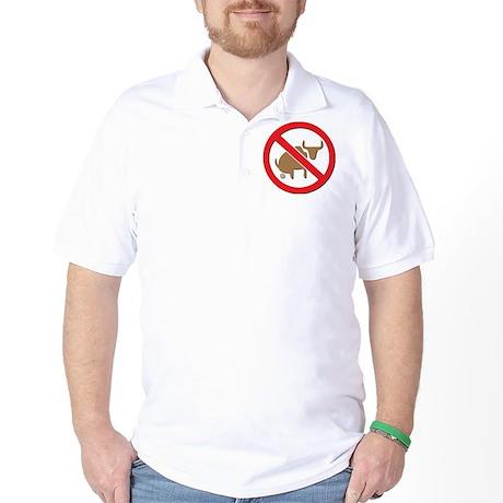 no bullshit-light Golf Shirt