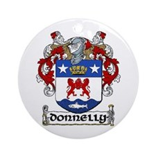 Donnelly Coat of Arms Ornament (Round)