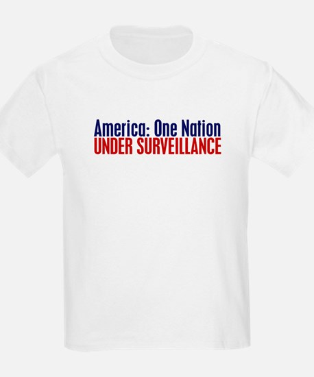 America: One Nation Under Surveillance T-Shirt