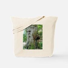 Laughing Green Man Tote Bag