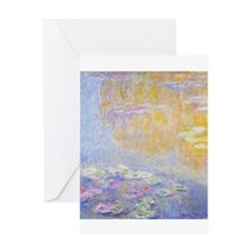Monet Water Lilies 7 Greeting Cards