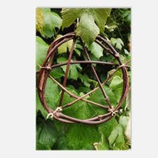 Grapevine Pentacle Postcards (Package of 8)